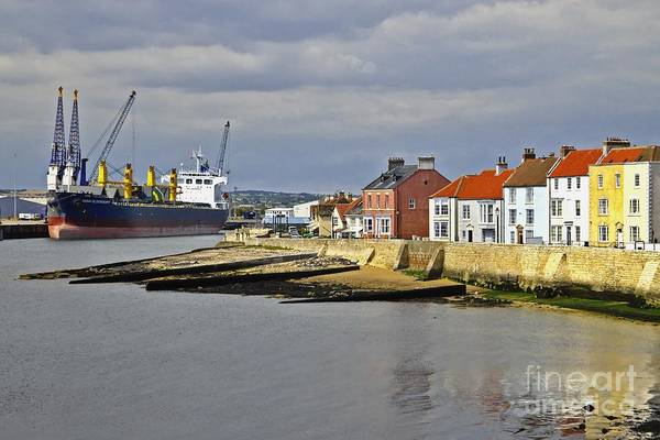 Photograph - Hartlepool Harbour Evening by Martyn Arnold