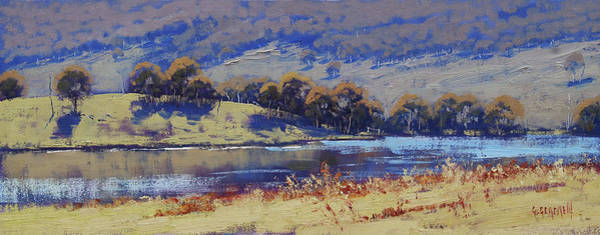Wall Art - Painting - Hartley Dam by Graham Gercken