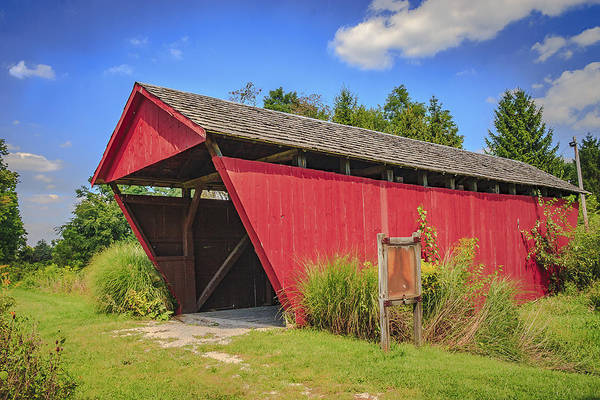 Photograph - Hartman # 2 Covered Bridge by Jack R Perry