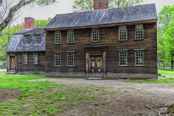 Photograph - Hartwell Tavern by Brian MacLean