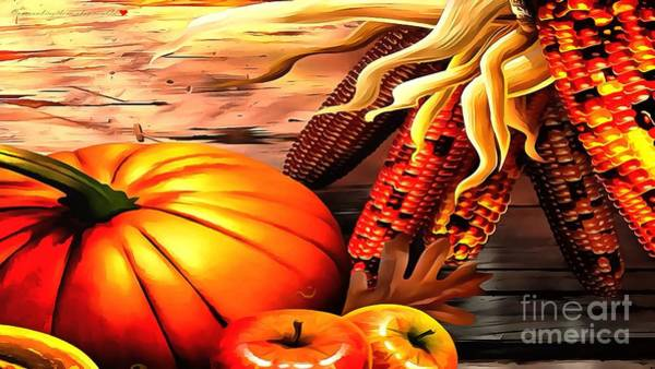 Painting - Harvest Decor by Catherine Lott