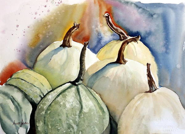 Painting - Harvest Delight by Anna Jacke