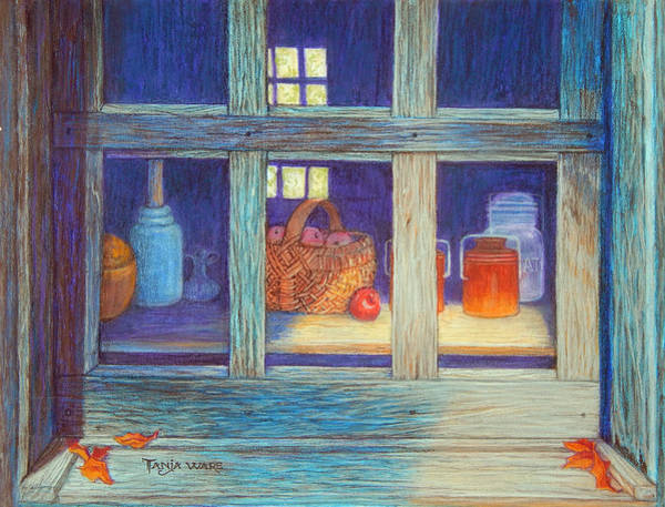 Wall Art - Painting - Harvest Kitchen by Tanja Ware
