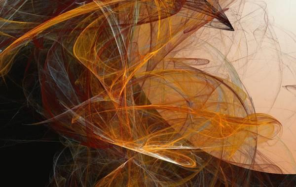 Expressionism Digital Art - Harvest Moon by David Lane
