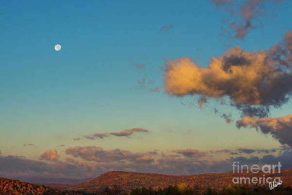 Photograph - Harvest Moon Foothills by Alana Ranney