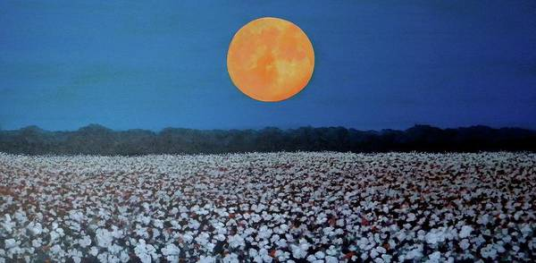 Painting - Harvest Moon by Jeanette Jarmon