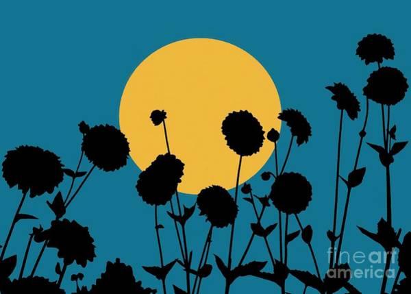 Mixed Media - Harvest Moon by Patricia Strand