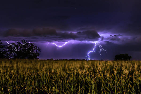 Photograph - Harvest Storm by Ryan Smith