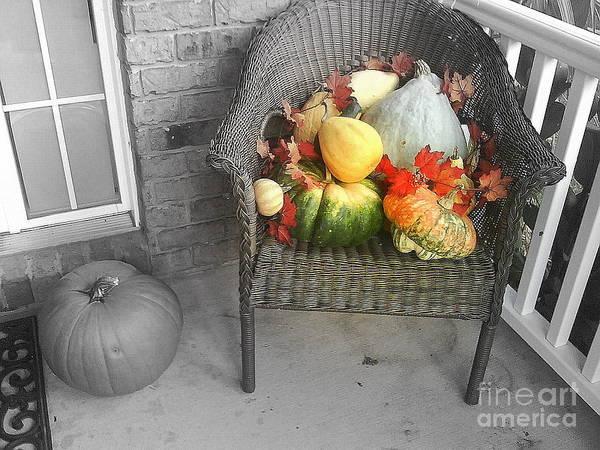 Pumkin Wall Art - Photograph - Harvest Time by Deborah Selib-Haig DMacq