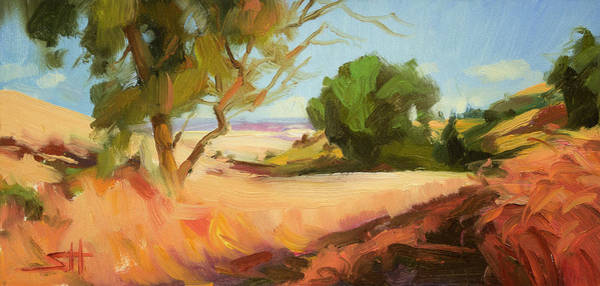 Rural Painting - Harvest Time by Steve Henderson