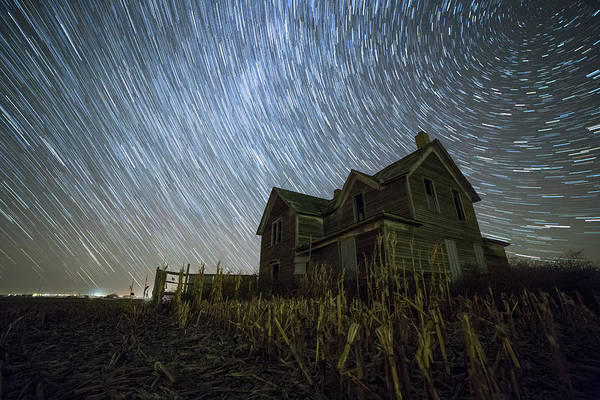 Abandoned House Wall Art - Photograph - Harvest Trails by Aaron J Groen