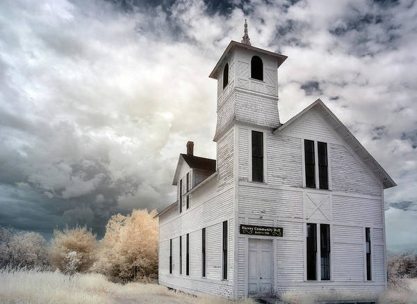 Photograph - Harvey Community Hall by Tracy Munson