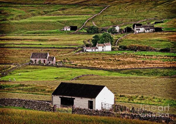 Photograph - Harwood In Teesdale Village by Martyn Arnold