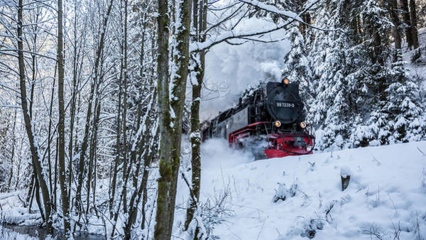 Photograph - Harzquerbahn by Andreas Levi