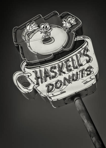 Wall Art - Photograph - Haskell's Donuts #2 by Stephen Stookey