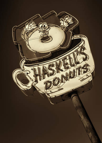 Wall Art - Photograph - Haskell's Donuts #3 by Stephen Stookey