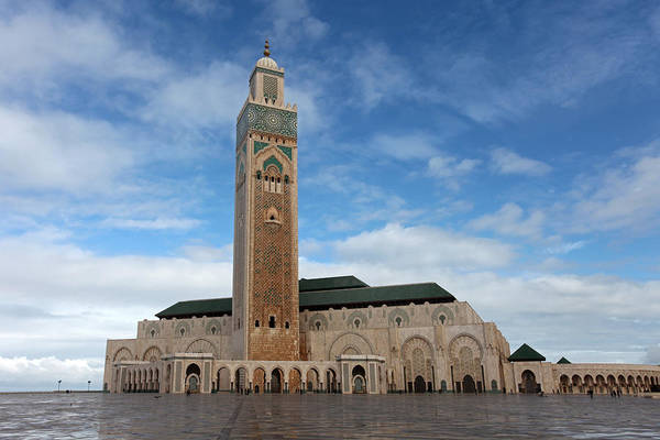 Photograph - Hassan II Mosque by Aivar Mikko
