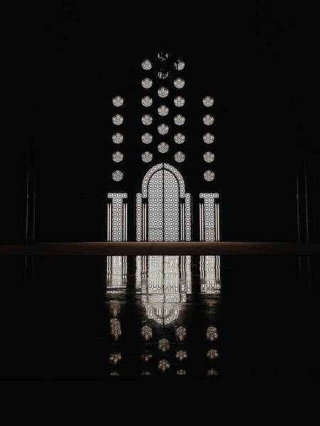 Photograph - Hassan II Mosque by Huilin Dai