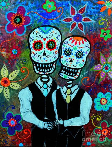 Tats Painting - Hasta Que La Muerte Nos Separe by Pristine Cartera Turkus