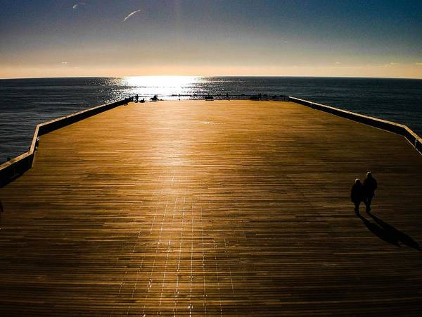Photograph - Hastings Pier, Hastings, Sussex, England by Samuel Pye