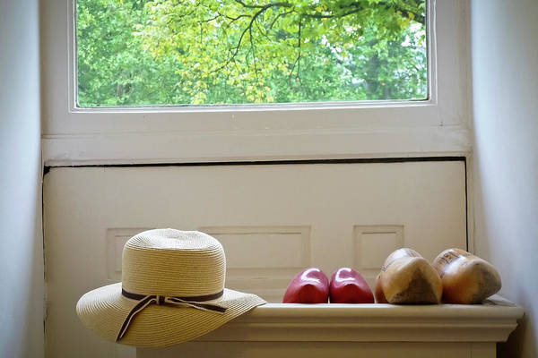 Photograph - Hat And Clogs by Joan Carroll