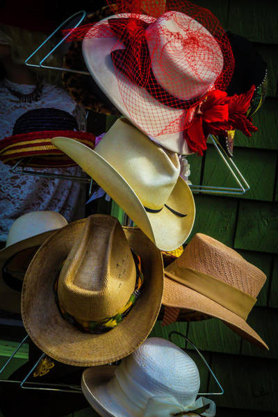 Mens Clothing Wall Art - Photograph - Hat Rack by Garry Gay