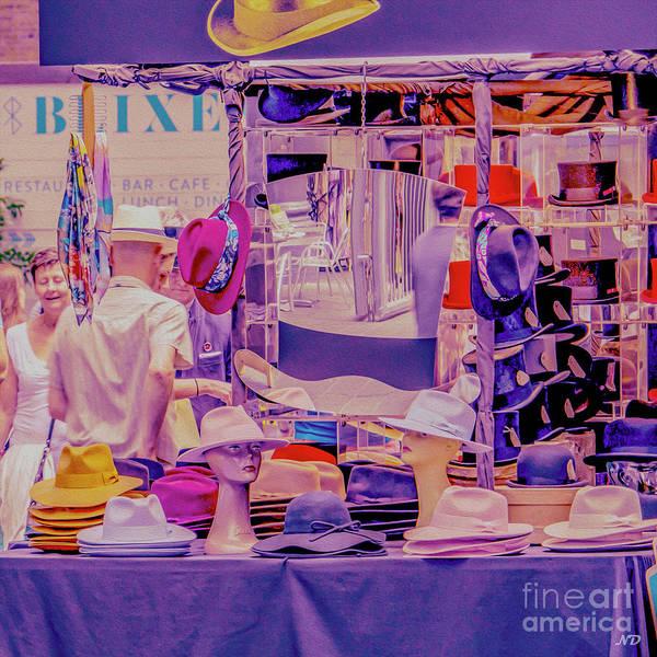 Photograph - Hat Stall by Nigel Dudson