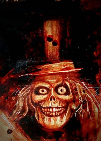 It Professional Painting - Hatbox Ghost  by Ryan Almighty