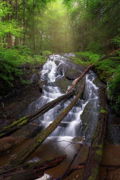 Photograph - Hatch Brook Falls by Bill Wakeley