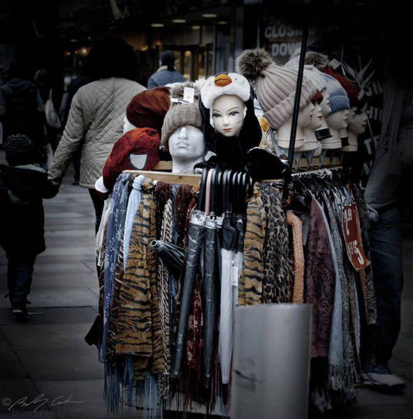 Photograph - Hats And Scarves by Beverly Cash