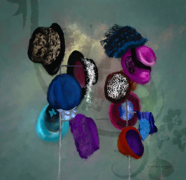 Painting - Hats by Susan Kinney