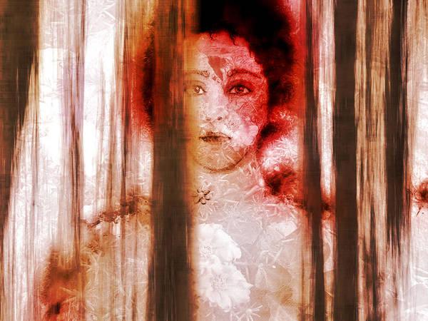 Wall Art - Digital Art - Hattie's Window by Patricia Motley