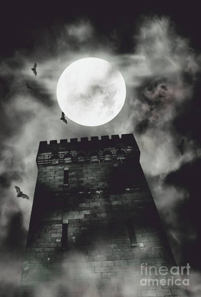 Flying Fortress Photograph - Haunted Dark Castle by Jorgo Photography - Wall Art Gallery