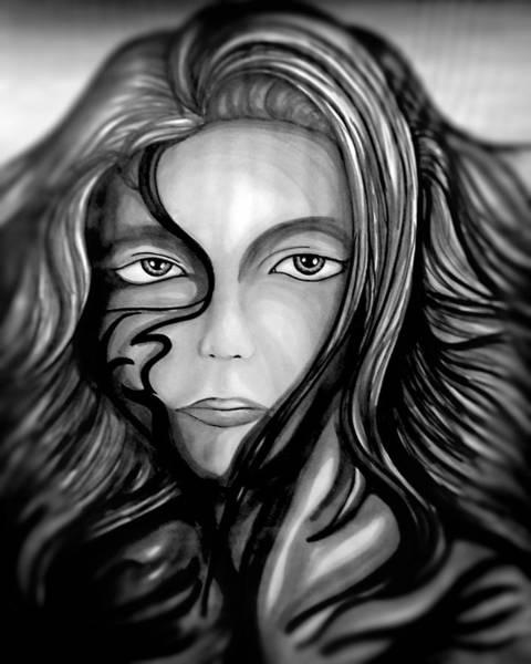 Drawing - Haunted by Franklin Kielar