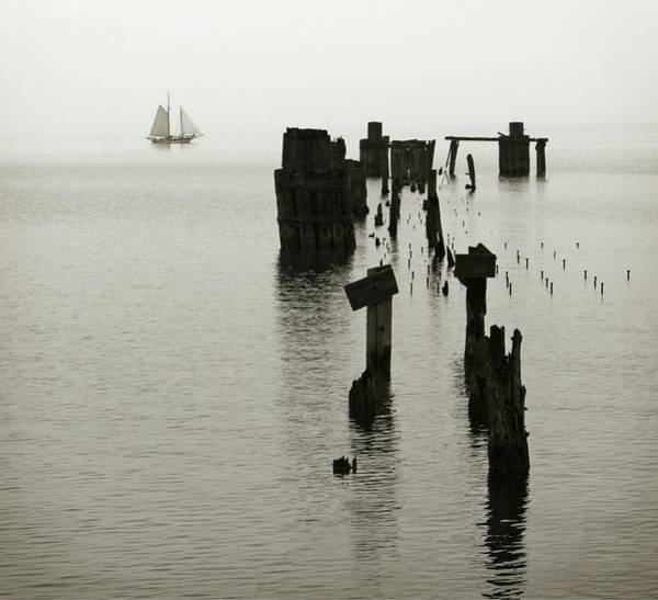 Wall Art - Photograph - Haunted Harbor by Chris Fleming