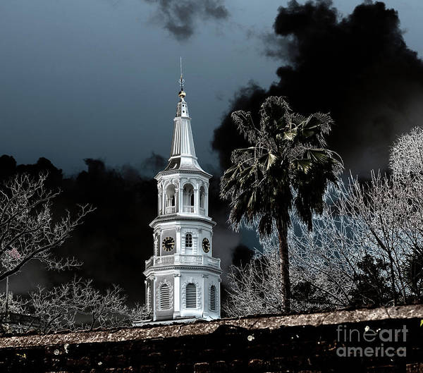 Photograph - Haunted Historic Charleston by Dale Powell