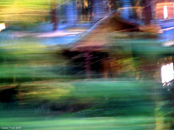 Real Ghosts Wall Art - Photograph - Haunted House by Jane Tripp