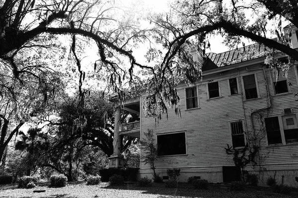 Photograph - Haunted House by Jill Lang