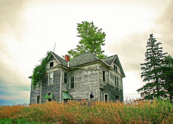 Abandoned House Wall Art - Photograph - Haunted House by Todd Klassy
