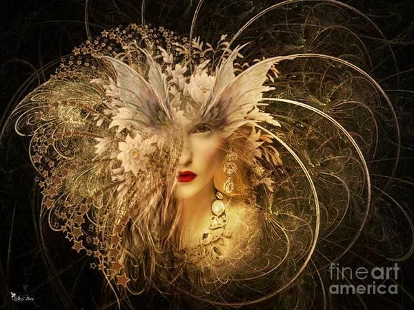 Apparition Digital Art - Haunted Vision by Ali Oppy