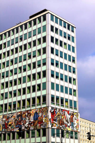 Photograph - Haus Des Lehrers Berlin by John Rizzuto