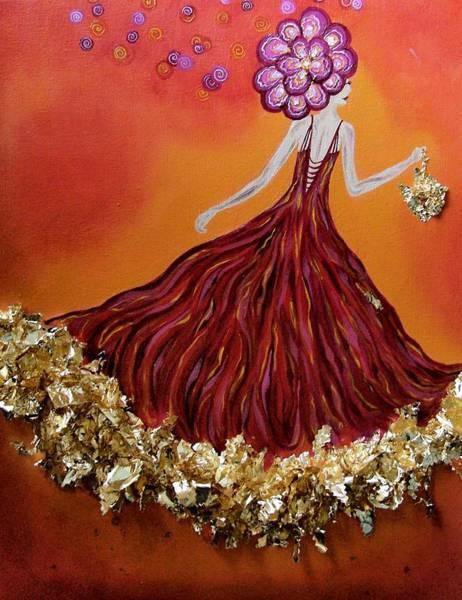 Haute Couture Sunset Art Print by Samantha Kulchar