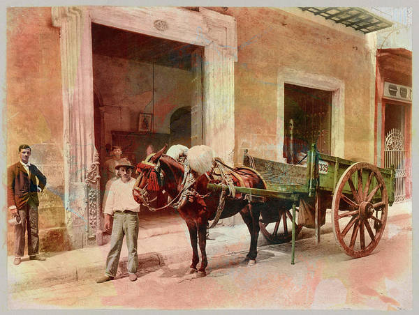 Photograph - Havana 1900  by Carlos Diaz