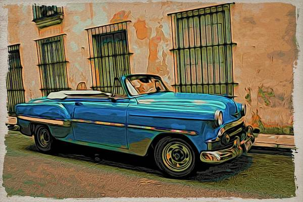 Photograph - Havana Blue by Alice Gipson