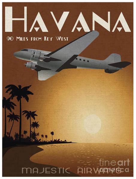 Cuba Wall Art - Digital Art - Havana by Cinema Photography