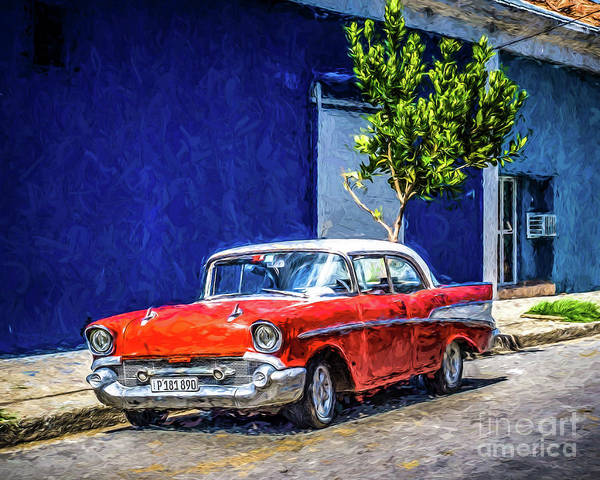 Wall Art - Photograph - Havana Classic by Perry Webster