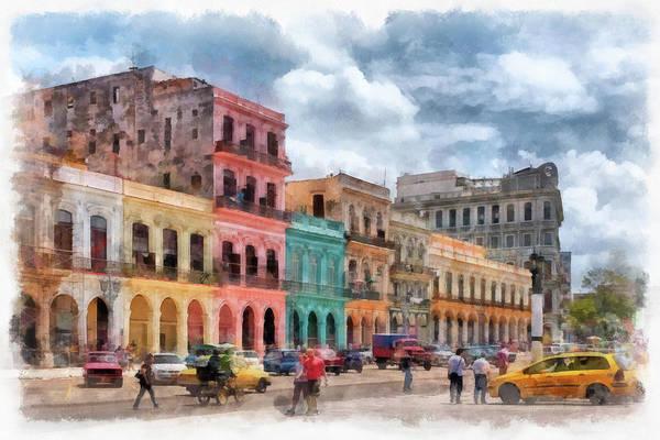 Photograph - Havana Facades by Dawn Currie