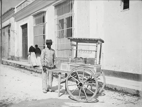 Photograph - Havana Ice Cream 1890 by Richard Reeve