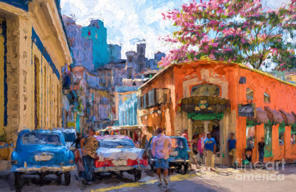 Digital Art - Havana In Bloom by Les Palenik