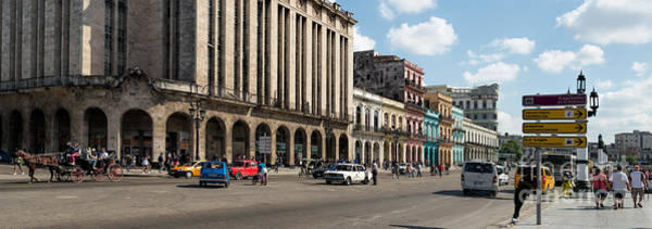 Photograph - Havana - Paseo Del Prado  by Les Palenik